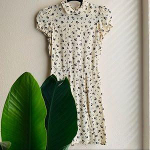 Reformation | Mini Floral Dress